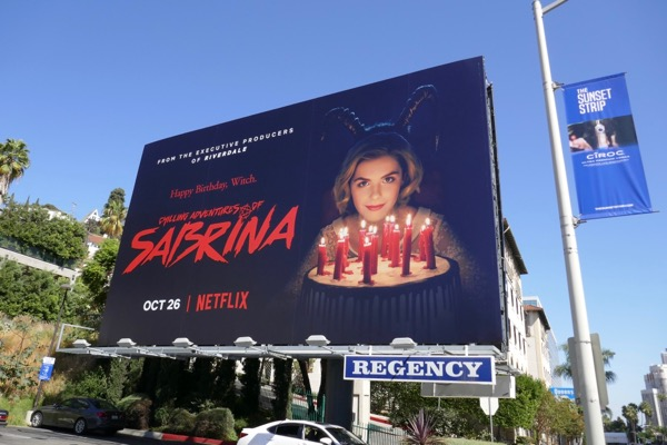 Chilling Adventures of Sabrina billboard