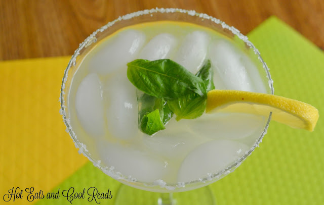 A refreshing cocktail with the perfect combination of citrus and basil flavors! Definitely a new favorite! Lemon Lime Basil Margarita Recipe from Hot Eats and Cool Reads