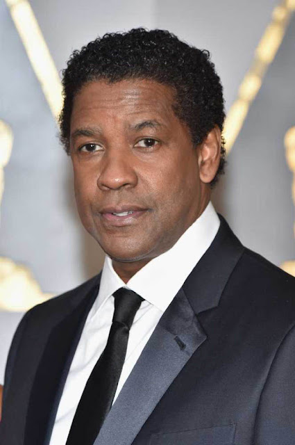 Denzel Washington at 89th Annual Academy Awards