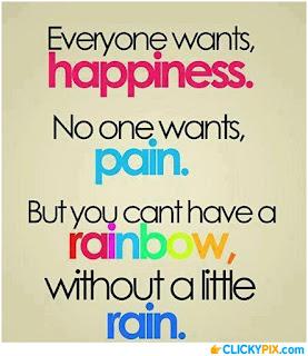 Pain,Rainbow, Rain