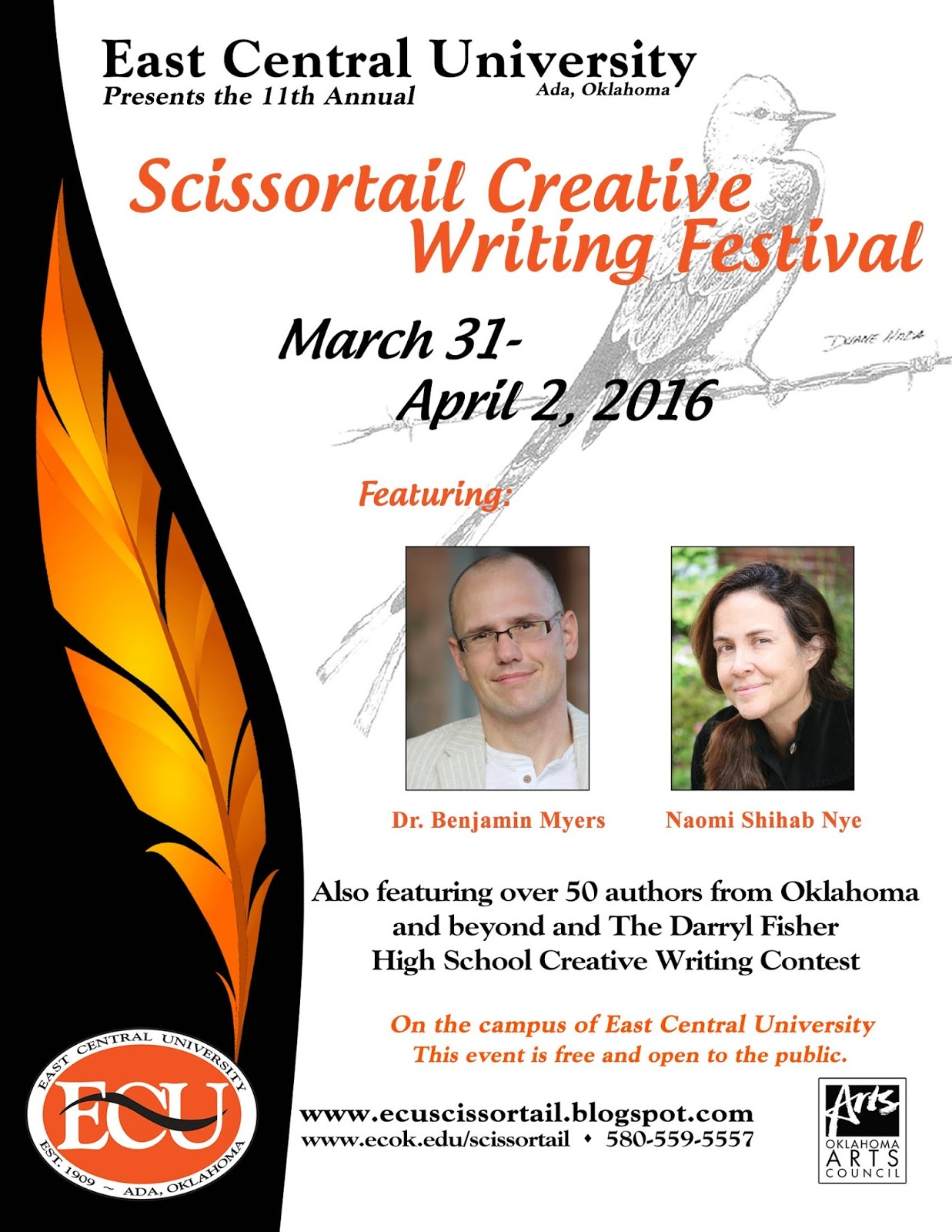 scissortail creative writing festival 2015