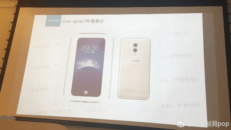 Vivo Xplay 7 alleged leaked Presentation and Images are PROMISING