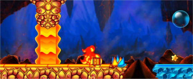 Geometry Dash Fire and Water