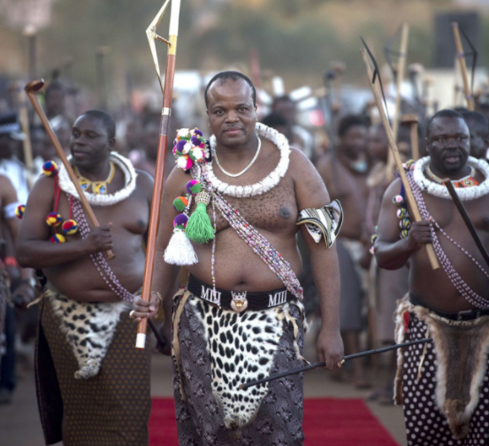 King Mswati III changes the name of his country from Swaziland to eSwatini