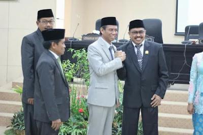 Pelantikan Ketua DPRD Baru Bondowoso