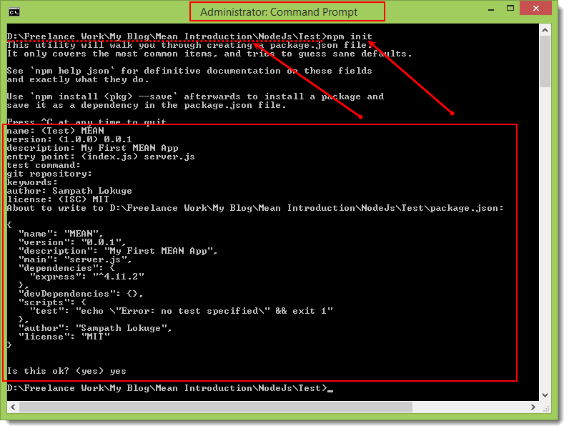 Basics of Node js for MEAN Stack Development | Adventures in