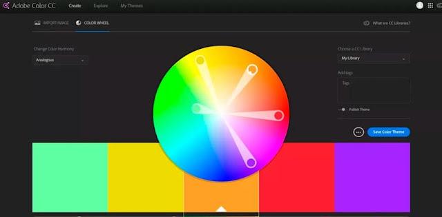Adobe Color CC: Paleta de colores online para diseñadores más avanzados