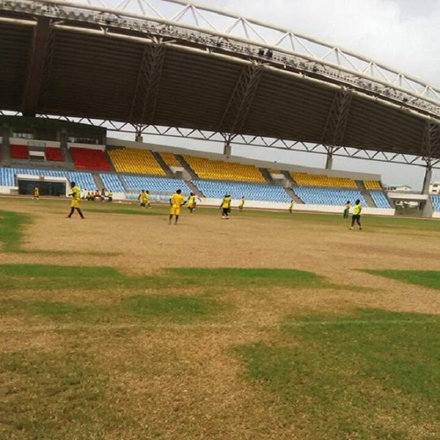 Cape Coast Stadium rots just nine months after construction