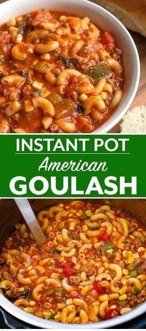 Instant Pot American Goulash