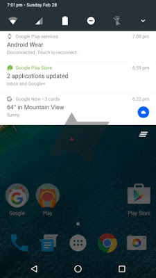 android-n-notification-bar