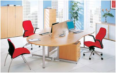 Module bàn làm việc văn phòng cho không gian hẹp