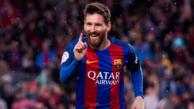 Le geste magnifique de Lionel Messi après son premier but ...