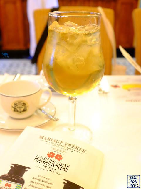 Le Chameau Bleu - Blog Voyage et Gastronomie - Thé d'été de Mariage Frères Paris