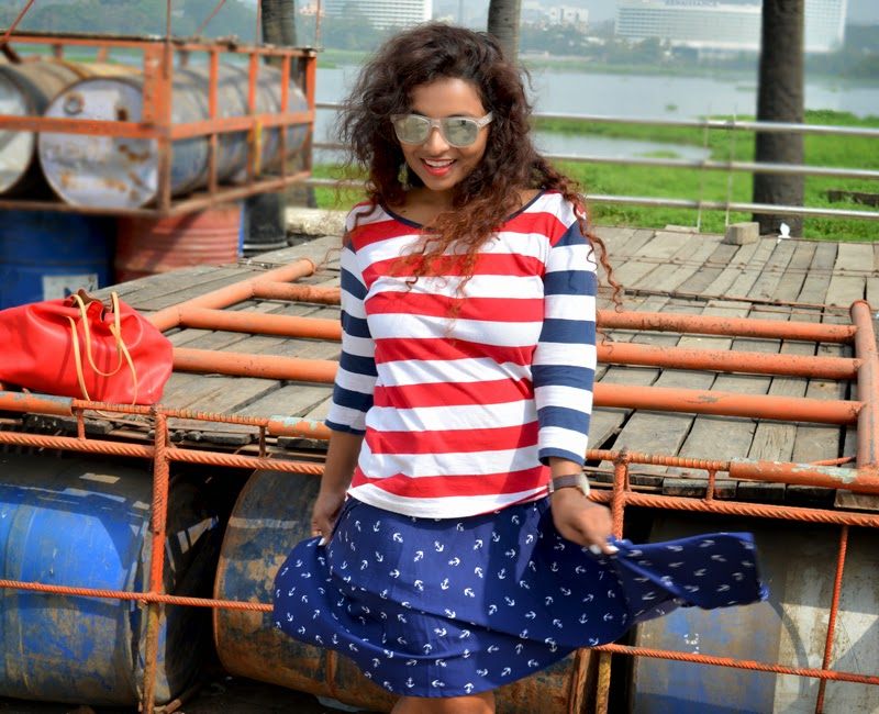 nautical trend indian fashion bloggers summer fashion