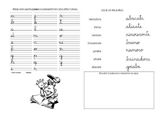 Caligrafia para imprimir e caderno de caligrafia - Atividade Caligrafia - 15