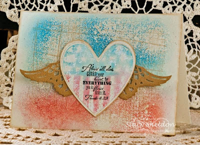 ODBD Heart and Soul, ODBD Custom Ornate Hearts Die Set, ODBD Custom Angel Wings Die Set, ODBD Customer Card of the Day by Stacy Sheldon