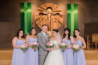 Beautiful Photographs with the bridesmaids