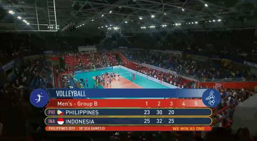 Indonesia def. Philippines, 3-0 (VIDEO) Men's Volleyball | SEA Games 2019 | December 6