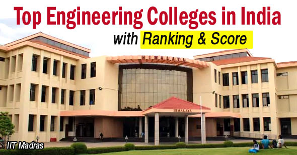Top 50 Engineering Colleges in India with Ranking 2018