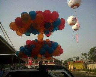 Balon Pelepasan Jakarta