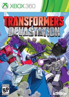 Transformers Devastation (XBOX360) 2015