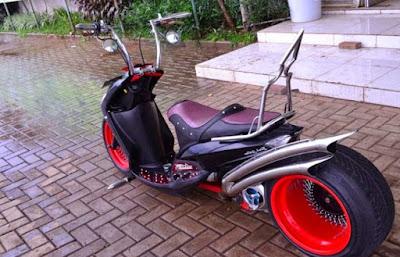 Top modifikasi mio m3 125cc