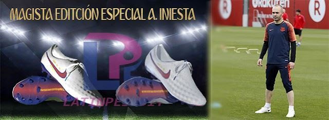 Magista Special Edition Iniesta Boots PES 2017