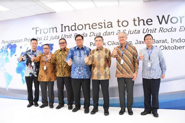 Produksi Suzuki Indonesia Go International 2018