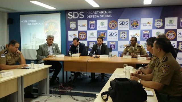 Goiana e mais 32 cidades recebem reforços policiais neste Natal