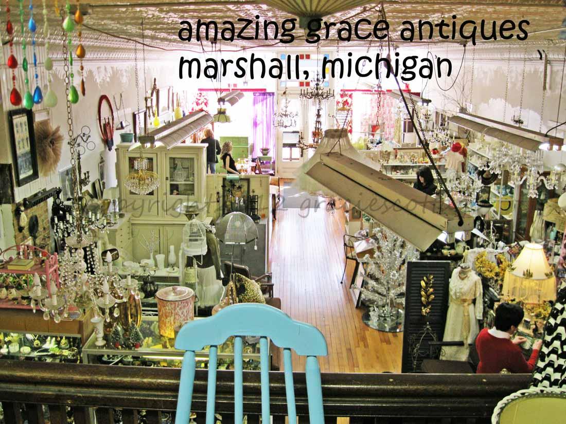Gracie's Cottage: Shopping Marshall, Michigan
