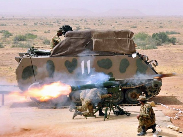 Pakistan Army and Anti-Tank Guided Missiles   Perspective