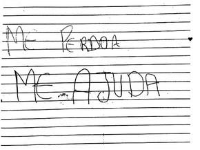 """Menina escreve carta à mãe e denuncia pai por estupro: 'Me Ajuda"""""""