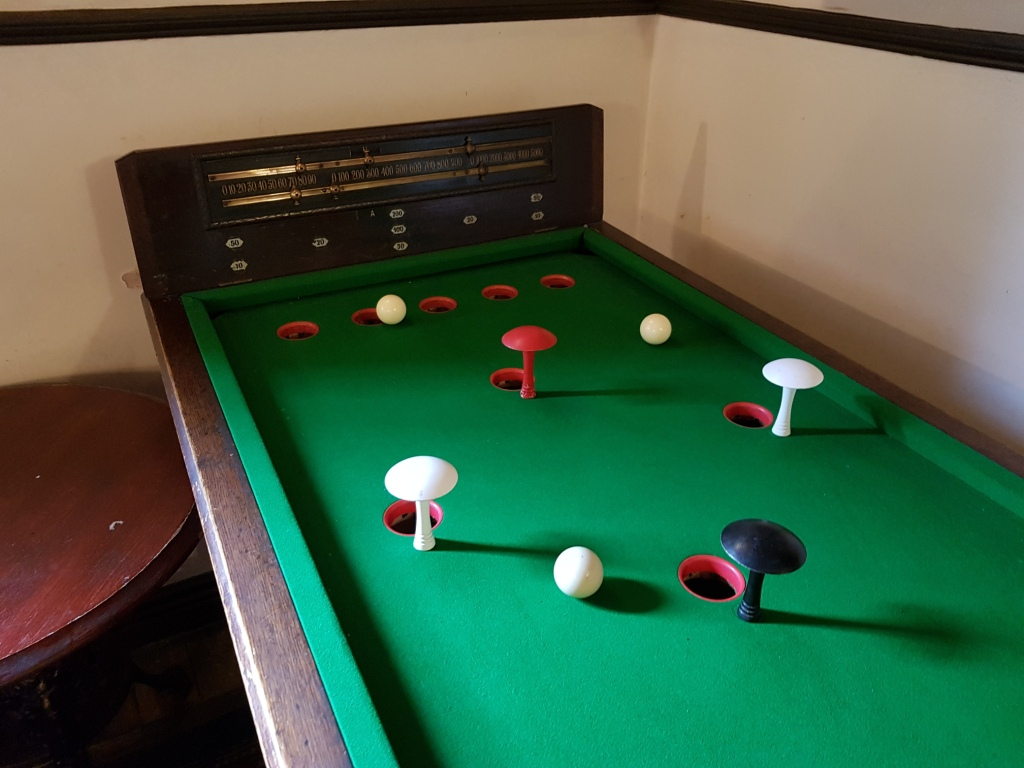 The Ham And Egger Files Bar Billiards At The Golden Star Pub In Norwich - Pool table with pegs