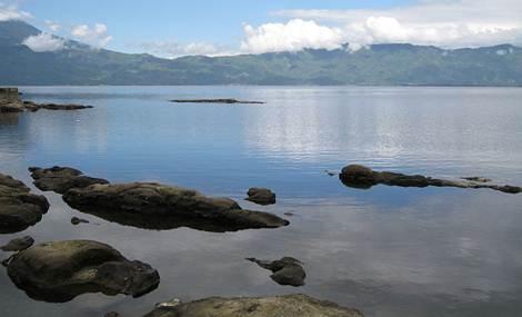 keindahan objek wisata danau kerinci
