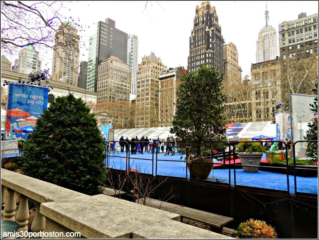 Bryant Park en Nueva York