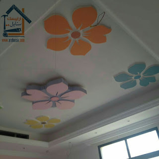ديكورات جبصين غرف نوم اطفال