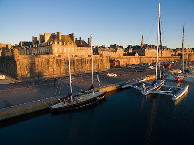 Saint Malo accueille The Transat bakerly.