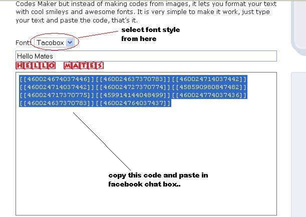 Trick To Change Fonts On Facebook Hacking Tips Tricks
