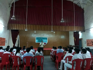 Career Counselling by Career Counsellor Farzad Damania at Army Public School Mumbai