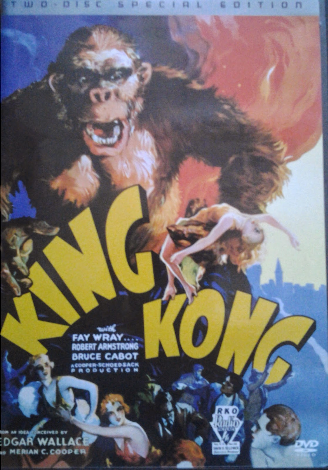 DVD Cover - King Kong