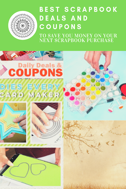 Best Scrapbook Deals and Coupons to Save you Money