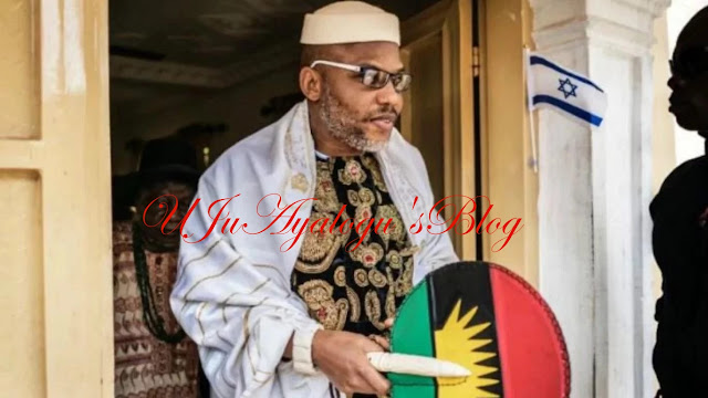 VIDEO: 'I Am Coming To Lagos And Kaduna In Full Force', Nnamdi Kanu Says