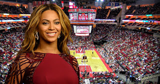 Beyonce as owner of the Houston Rockets