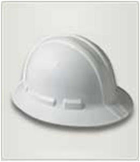 AO SAFETY XRL 8 FULL BRIM HARD HAT