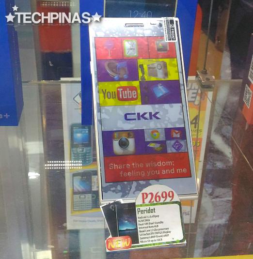 CKK Mobile Peridot, CKK Android Smartphone