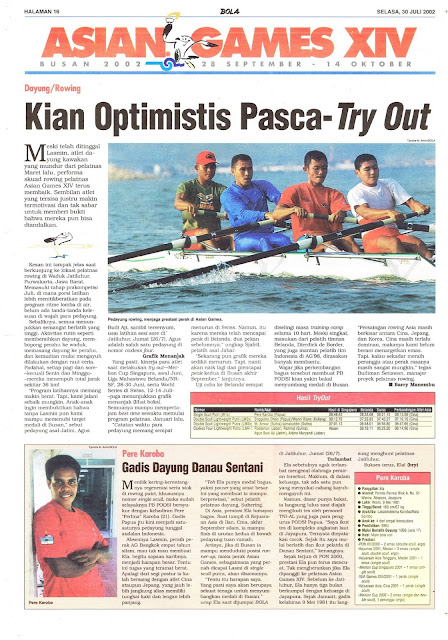 ASIAN GAMES XIV BUSAN: DAYUNG KIAN OPTIMIS PASCA-TRY-OUT