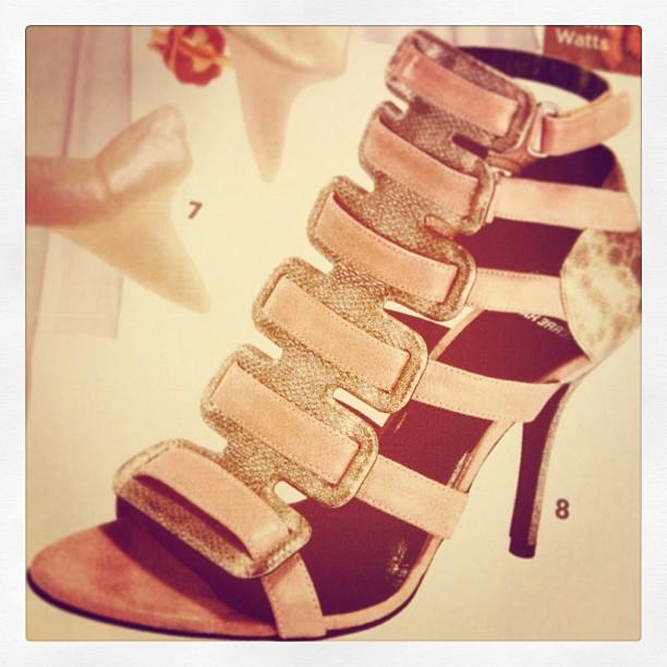 pierre hardy blush strappy sandals