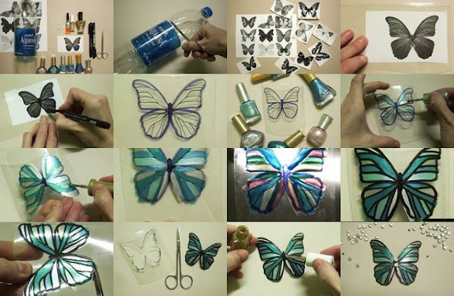 Beautiful butterfly from plastic bottle crazzy craft for Handmade things from waste material for kids step by step