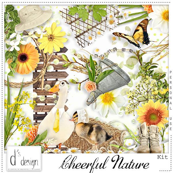 La pause scrap de kitcath for Cheerful nature