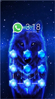 Download Wolf CM Security AppLock Theme Apk